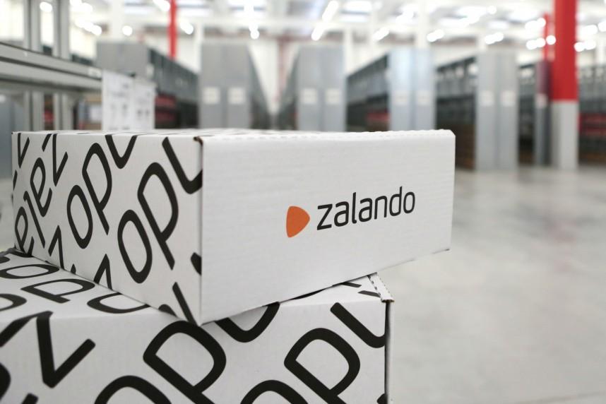 Crescita record per Zalando nell'ultimo trimestre del 2018